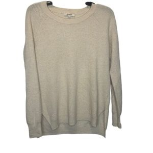 Madewell Waffle Knit Pullover | Size Small